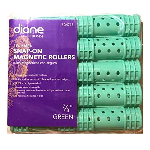 Diane Snap-On Magnetic Rollers - 7/8
