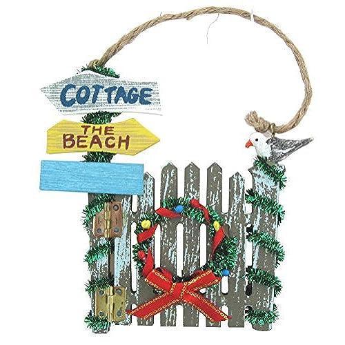 beach christmas wreath amazoncom - Beach Christmas Wreath
