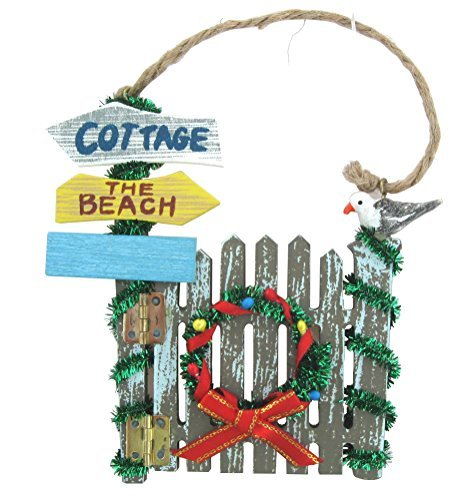 Beach Themed Christmas Gate Ornament