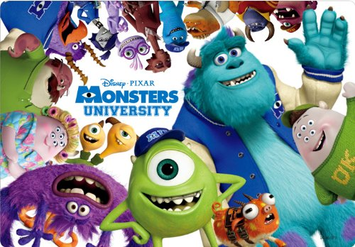 Tenyo Disney Child Puzzle 40 Piece, Friends of Monsters University (DC-40-075)
