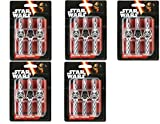 Star Wars Icon Birthday Cake Candles pdOWBO, 5Pack (Pack of 6 candles)