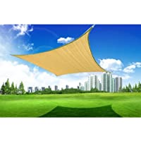 Outsunny 16.5' Square Outdoor Patio Sun Shade Sail Canopy