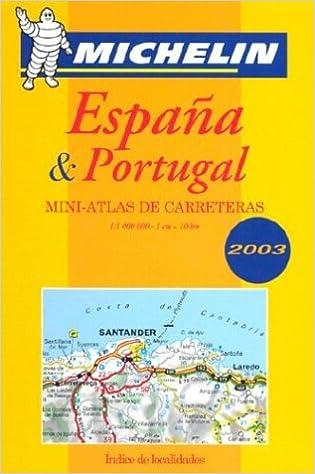 España & Portugal : Mini-atlas de carreteras Tourist & Motoring Atlas S.: Amazon.es: Michelin: Libros en idiomas extranjeros