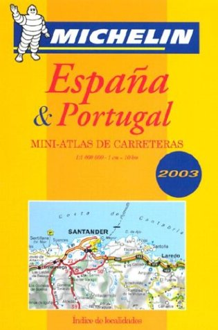 España & Portugal : Mini-atlas de carreteras Tourist & Motoring Atlas S.: Amazon.es: Michelin: Libros en idiomas extranjeros