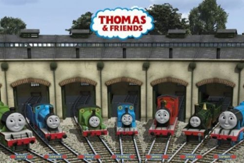 (Thomas The Tank Engine - TV Show Poster (Garage) (Size: 36 inches x 24 inches))