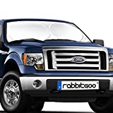 Rabbitgoo® Front Car Windshield Sun Shade-Jumbo/Standard Car Sunshade Protector- A Powerful UV Ray Deflector-Best for Cool Interior & Dashboard Protection
