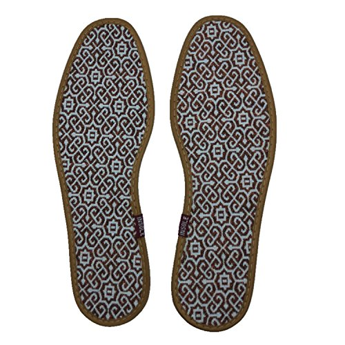Comfort Summer Breathable Thin Lightweight Barefoot Insoles, (Pack of 3) by BIFINI (Image #6)