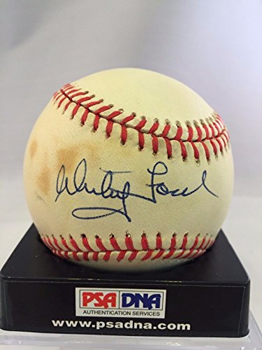 Whitey Ford Signed Autographed Official American League Baseball PSA DNA #Z20814 (Whitey Baseball Ford)