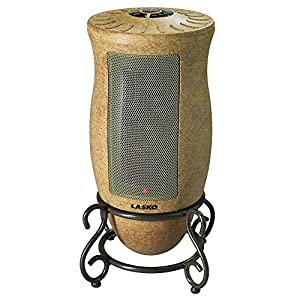 Lasko 6405 Designer Oscillating Heater,Gold