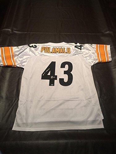 Signed Polamalu Troy Jersey (Troy Polamalu Signed Jersey - Memories Fanatics - Fanatics Authentic Certified - Autographed NFL Jerseys)