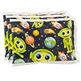 """Bentology - Reuseable Ice Pack for Lunch Boxes (3 Pack) - Bentology (6"""" x 4.5"""") - Alien Design"""