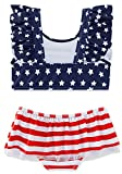 swimsobo Little Infant Girls Swimsuits 4th of July