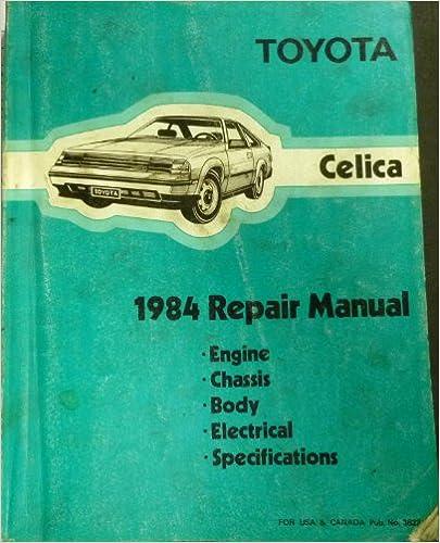 Ebooks free download fb2 1984 toyota celica repair shop manual 1984 toyota celica repair shop manual original fandeluxe Choice Image