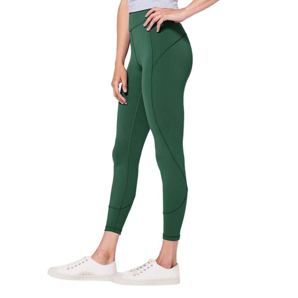 Makeupstory White Capris, Workout Wicking Short Sleeve T Shirts Womens,Women's High Waist Solid Yoga Pants Workout Running Sports Leggings Pants