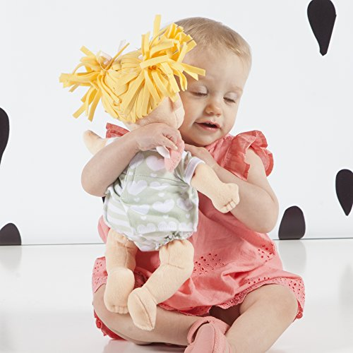 515KE7 J46L - Manhattan Toy Baby Stella Blonde Soft First Baby Doll for Ages 1 Year and Up, 15""