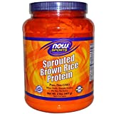 Now Foods, Sports, Sprouted Brown Rice Protein, 2 lbs (907 g) - 2PC