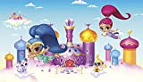 RoomMates Shimmer and Shine  Removable Wall Mural - 10.5 feet X 6 feet
