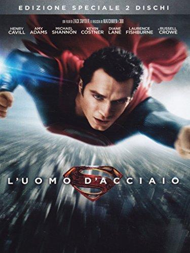 l'uomo d'acciaio - superman - 2dvd dvd Italian Import