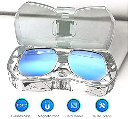 Amazon.com : Car Glasses Holder Sun Visor Clip ...