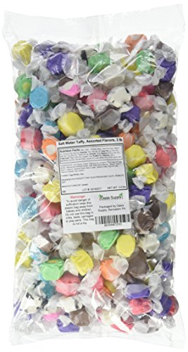 Sweets Salt Water Taffy, Assorted Flavors, 3 Pound