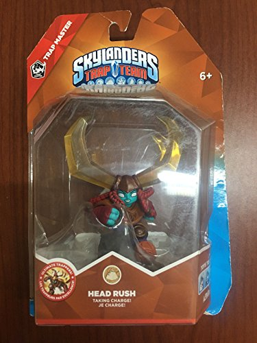 Skylanders: Trap Team HEAD RUSH (Night Shift Skylanders)