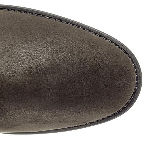Femme Hautes Bottes glitter Fashion Gabor Shoes anthrazit Gris 19 q7HRZ