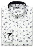 Best Anchor Shirts - Nick Graham Men's Anchor Print Cotton Dress Shirt Review