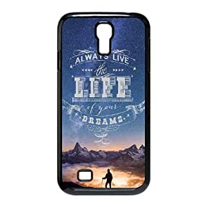 Well Design Samsung Galaxy S4 I9500 phone case - design with Quotes pattern
