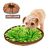 Image of CPOPBOY Snuffle Mat,Dog Snuffle Mat,Nosework for Dogs Large Small Pet Treat Interactive Puzzle Dispenser Toys