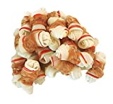 Pawant Dog Treats Puppy Training Snacks Promotes Healthy Chewing Chicken Wrapped Knot 2.5″ 0.5lb Review