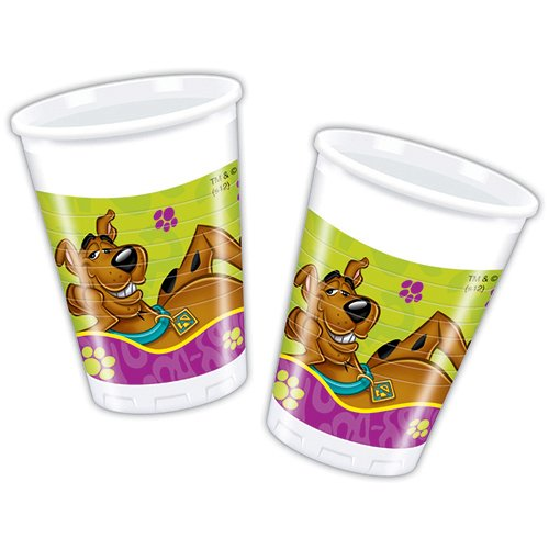 Scooby Doo 200ml Plastic Cups (Pack of 8)