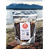 "Bullystick All Beef pizzles (8"") (20pc) for All-Sized Dogs - All Natural - Made in Canada - Odourless - Hormone Free - Long Lasting (Regular, Standard)"