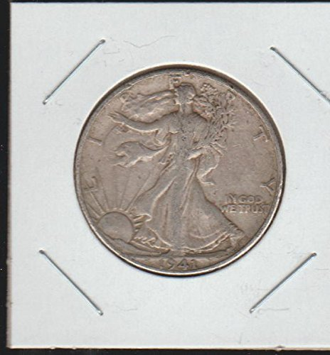 1941 D Liberty Walking (1916-1947) Half Dollar Choice Extremely Fine (1941 Liberty Quarter)