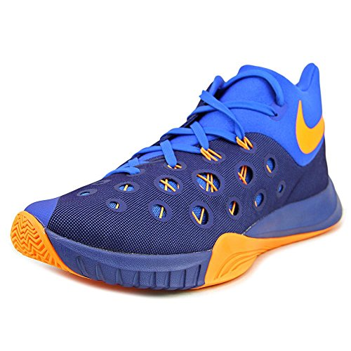 Nike Zoom Hyperquickness 2015 Men Basketball Sneakers New Insignia Blue Bright Citrus Nike