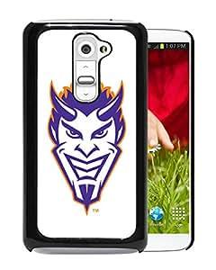 NCAA Northwestern State Demons 04 Black Hard Shell Phone Case For LG G2