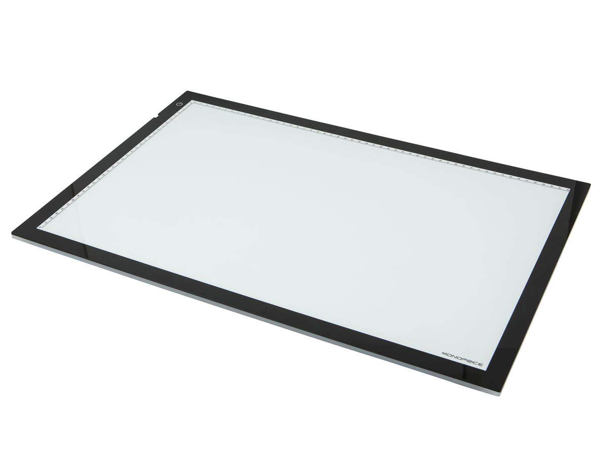 Monoprice Ultra-thin Light Box for Artists, Designers and Photographers - Large 24.5-inch - (112085) by Monoprice