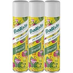 Batiste Dry Shampoo, Tropical, 3 Count