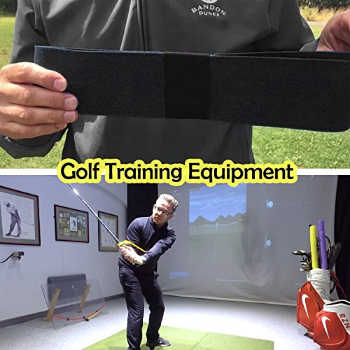 ETROL Golf Swing Training Aid Practicing Guide - Golf Swing Arm Band Training Aid - Gold Training Set by ETROL (Image #6)