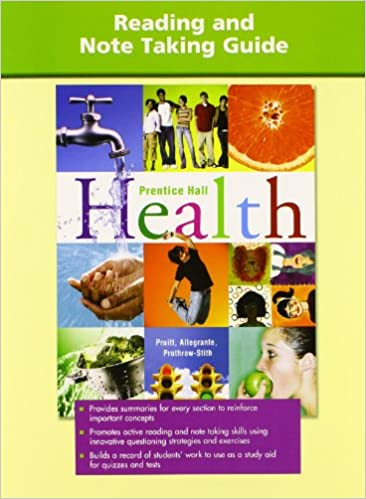 Health Reading And Notetaking Guide