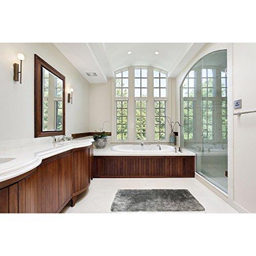 Hotel Luxury Reserve Collection Bath Rug - Grey