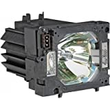 GOLDENRIVER POA-LMP124/610-341-1941 Replacement Lamp with Housing for SANYO PLC-XP200L Projectors