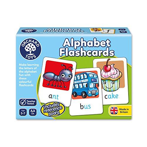 Language Italian Alphabet (Orchard Toys Alphabet Flashcards Game)