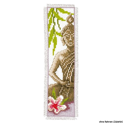 Vervaco PN-0143911 | Lady Buddha Bookmark Counted Cross Stit