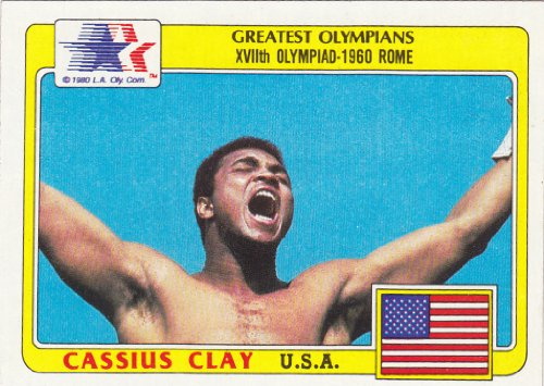 CASSIUS CLAY aka Mohammed Ali Olympic Trading Card