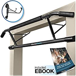 Homegainz Doorway Pull Up Bar, Door Frame Chin Up Bar for Home Gym, No Screws