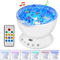 GRDE Remote Control Projector Light With Built-in Music...