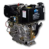LIFAN 186 Diesel Engine 6,3kW (8,6hp) 25mm with alternator electric starter 418ccm