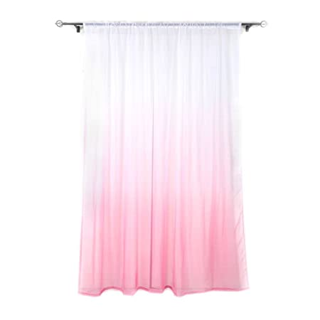 Handfly Bedroom Curtains Print Pink and Blue Curtain For Kitchen ...