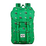 8848 Unisex's Travel Hiking Backpack Waterproof Material Green Riding a Horse