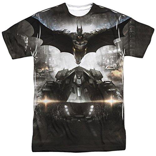 Batman: Arkham Knight - Poster T-Shirt Size L - Knight Men T-shirt